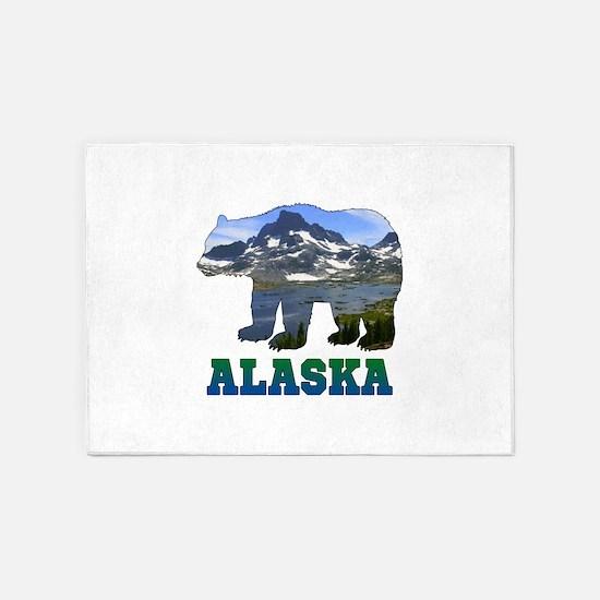 Alaskan Bear 5'x7'Area Rug