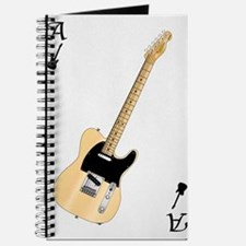 Guitar Playing Card Journal