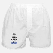 I can't keep calm Im RAGE Boxer Shorts