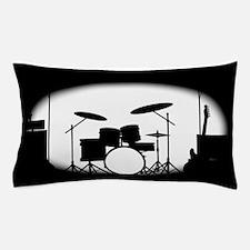 Half Tone Rock Band Poster Pillow Case