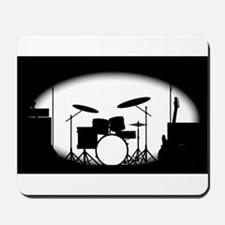 Half Tone Rock Band Poster Mousepad