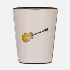 Gold Top Guitar Shot Glass