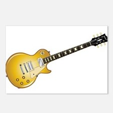 Gold Top Guitar Postcards (Package of 8)