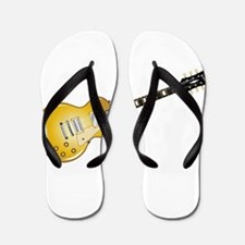 Gold Top Guitar Flip Flops