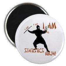 I Am Statistics Ninja! magnet
