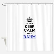 I can't keep calm Im RAHM Shower Curtain