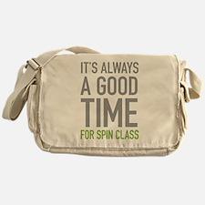 Spin Class Messenger Bag