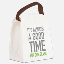 Spin Class Canvas Lunch Bag