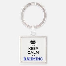 I can't keep calm Im RAHMING Keychains