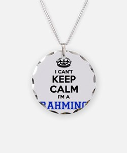 I can't keep calm Im RAHMING Necklace