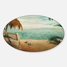 Vintage Beach Decal