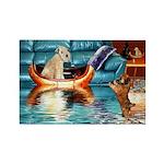 Soft Coated Wheaten Terrier Rectangle Magnet (10 p