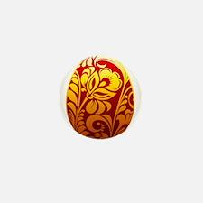 Easter egg design art Mini Button