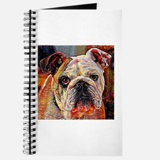 English Bulldog: A Portrait in Oil Journal
