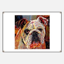 English Bulldog: A Portrait in Oil Banner