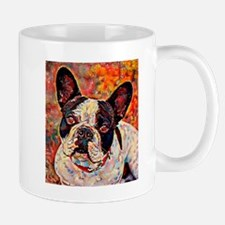 French Bulldog: A Portrait in Oil Mug