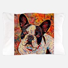 French Bulldog: A Portrait in Oil Pillow Case