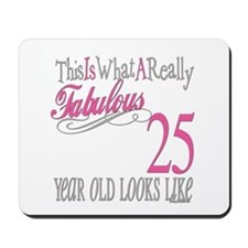 25th Birthday Gifts Mousepad