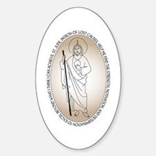 St. Jude Oval Decal (10 pk) Decal