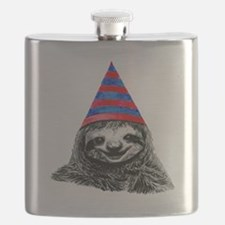 Funny Sloths Flask