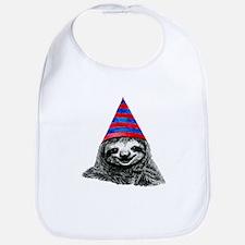 Party Sloth Bib
