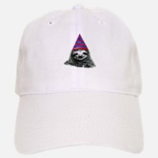 Party Sloth Baseball Baseball Cap