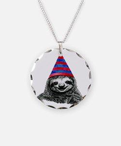 Party Sloth Necklace