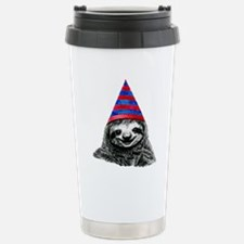 Party Sloth Thermos Mug