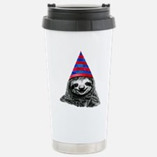 Party Sloth Travel Mug