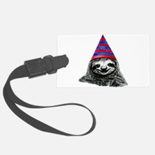 Party Sloth Luggage Tag