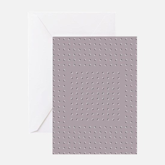 Wobbly Illusion Greeting Cards