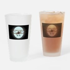 Flying by Night Drinking Glass