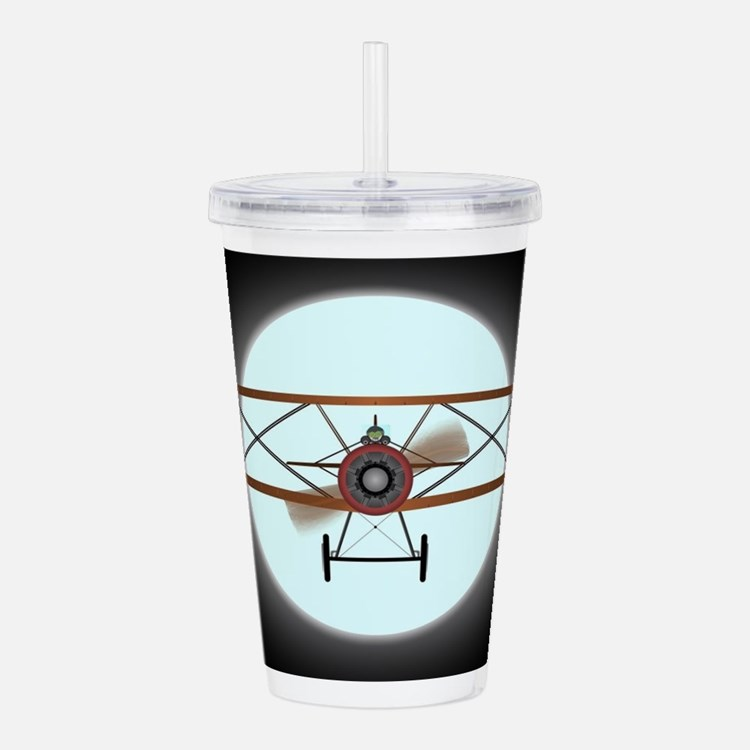 Flying by Night Acrylic Double-wall Tumbler