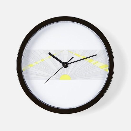 Art Deco Background Wall Clock