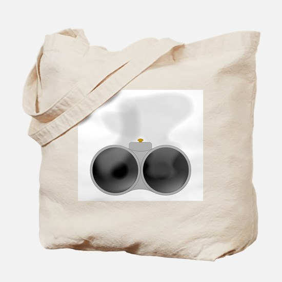 Two Smoking Barrels Tote Bag