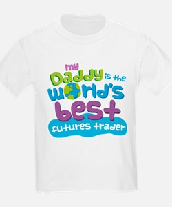 Futures Trader Gifts for Kids T-Shirt