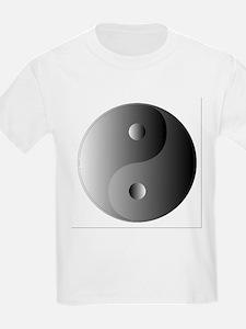 Yin and Yang, Shades of Grey T-Shirt
