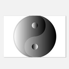 Yin and Yang, Shades of G Postcards (Package of 8)