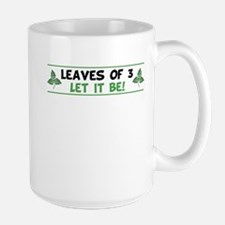 Leaves of 3 Let It Be Mugs