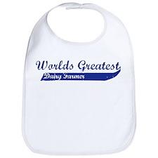 Greatest Dairy Farmer Bib