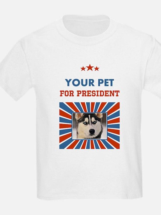Custom Your Pet For President T-Shirt