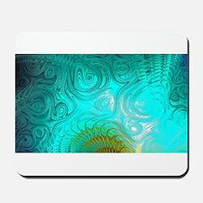 Turquoise Ayes - IMRAN™ Mousepad