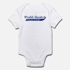 Greatest Financial Manager Infant Bodysuit