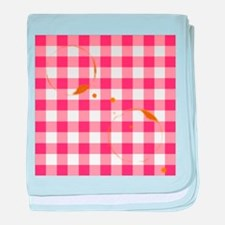 Tablecloth Ring Stains baby blanket