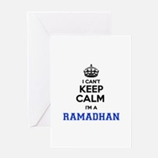 I can't keep calm Im RAMADHAN Greeting Cards
