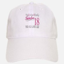 18th Birthday Gifts Baseball Baseball Cap