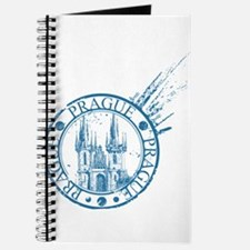 Prague travel stamp Journal