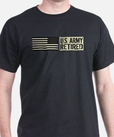 U.S. Army: Retired (Black Flag) T-Shirt