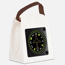 Funny Directional arrow Canvas Lunch Bag