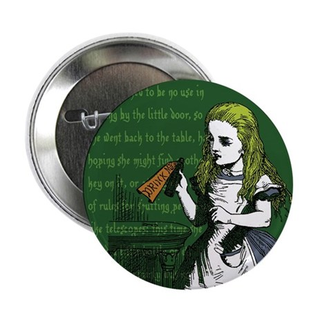 "Drink Me 2.25"" Button"